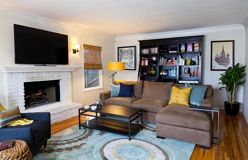 25 Super Masculine Living Room Designs-5