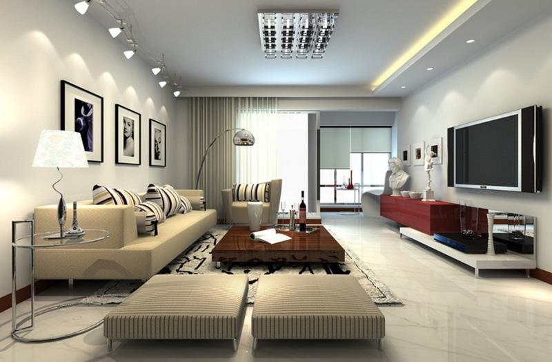 25 Super Masculine Living Room Designs-8