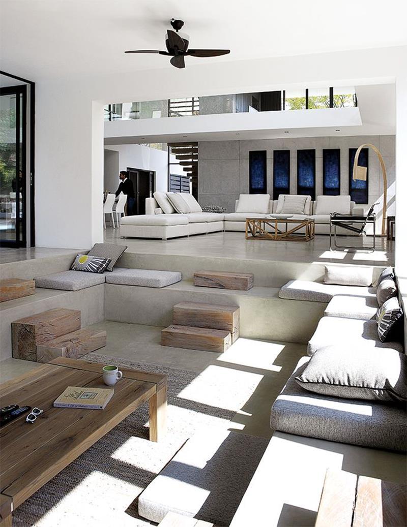 26 Amazing Sunken Living Room Designs-21