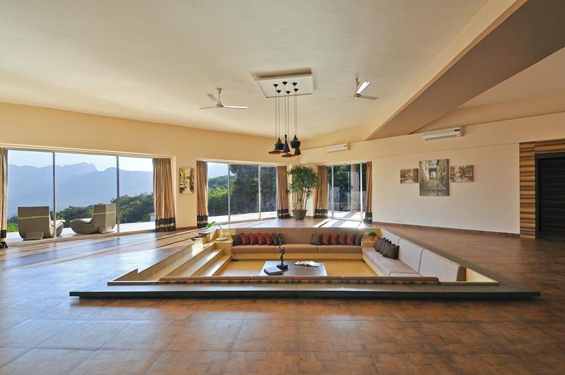 26 Amazing Sunken Living Room Designs-23