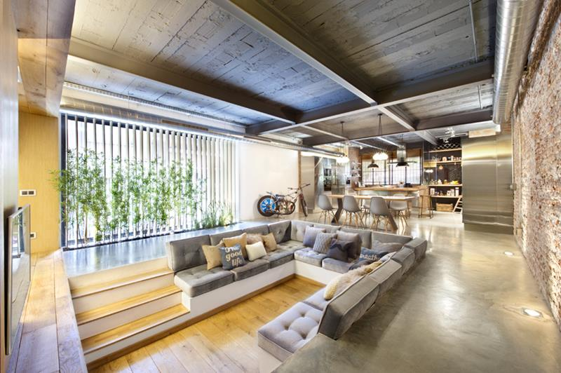 26 Amazing Sunken Living Room Designs-title