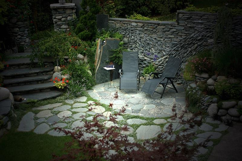 26 Awesome Stone Patio Designs for Your Home-22