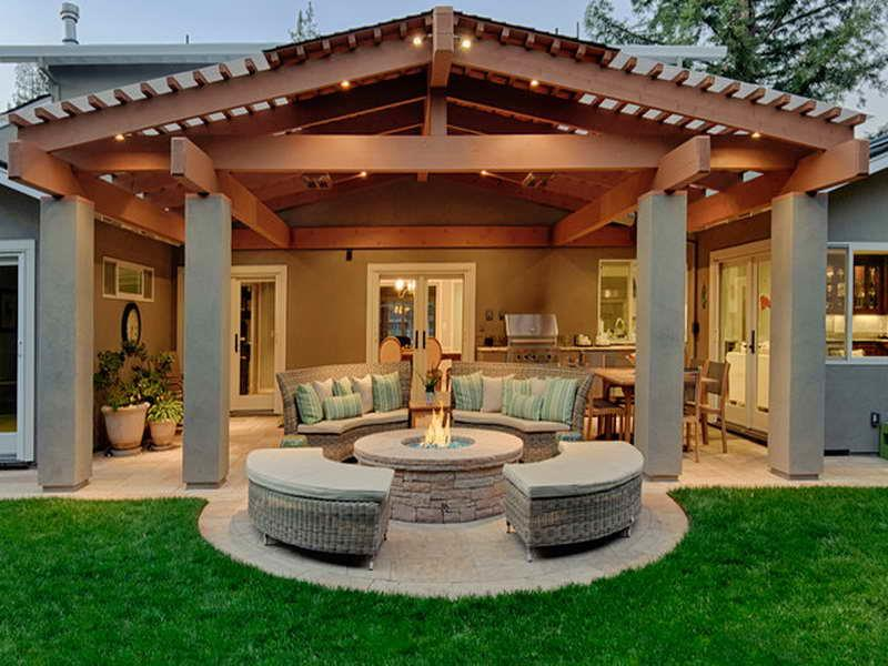 26 Awesome Stone Patio Designs for Your Home-25