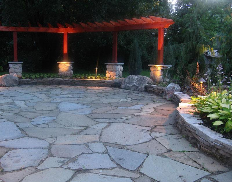 26 Awesome Stone Patio Designs for Your Home-4