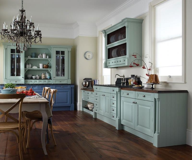 26 Eye Catching Blue Kitchen Designs   Page 4 of 5