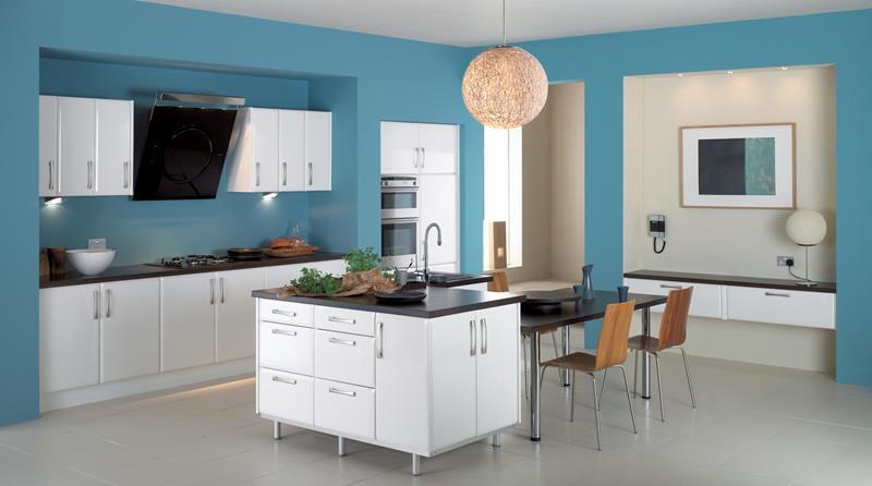 26 Eye Catching Blue Kitchen Designs-2