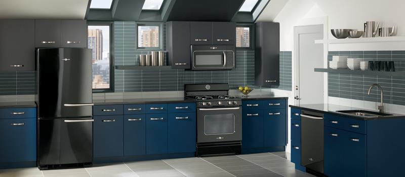 26 Eye Catching Blue Kitchen Designs-25