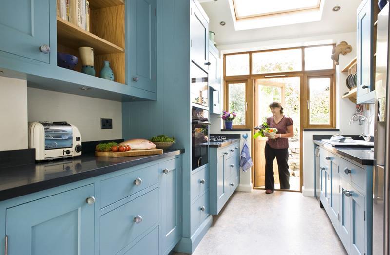 26 Eye Catching Blue Kitchen Designs-26