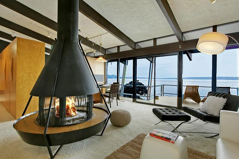 27 Beautiful Mid Century Living Room Designs-11
