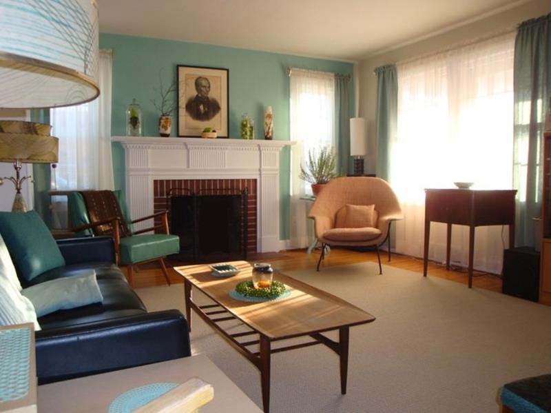 27 Beautiful Mid Century Living Room Designs-2