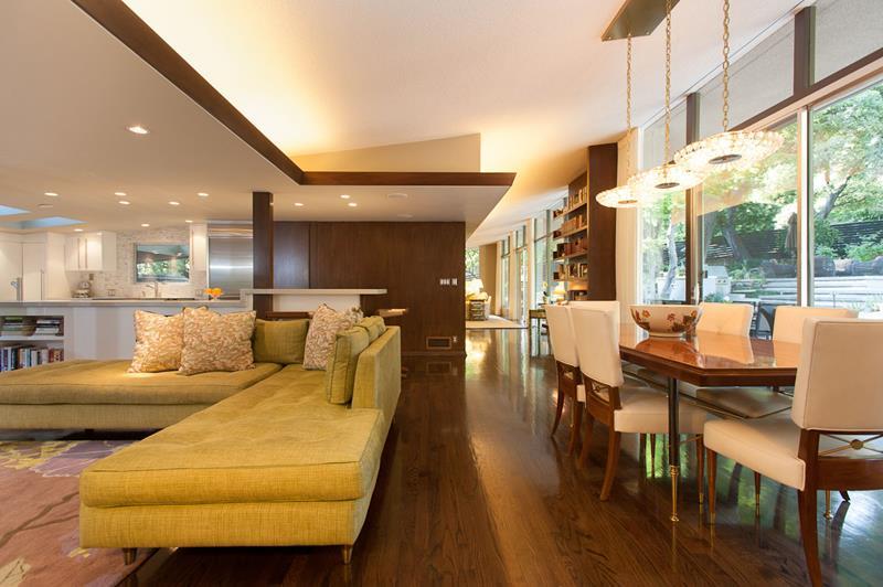 27 Beautiful Mid Century Living Room Designs-23