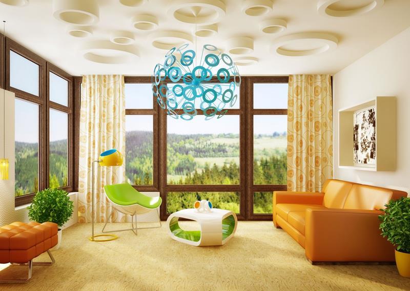 27 Beautiful Mid Century Living Room Designs-26