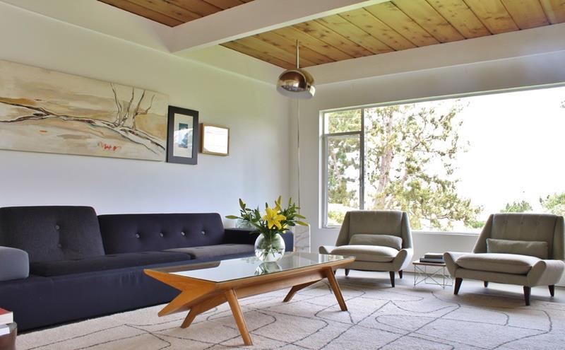 27 Beautiful Mid Century Living Room Designs-27