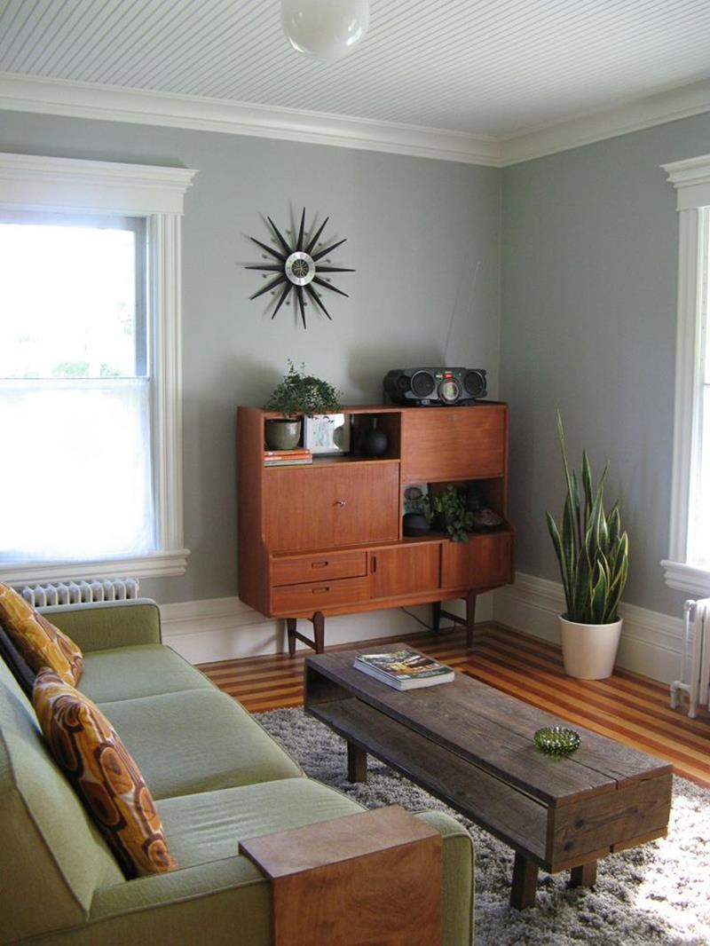 27 Beautiful Mid Century Living Room Designs-6