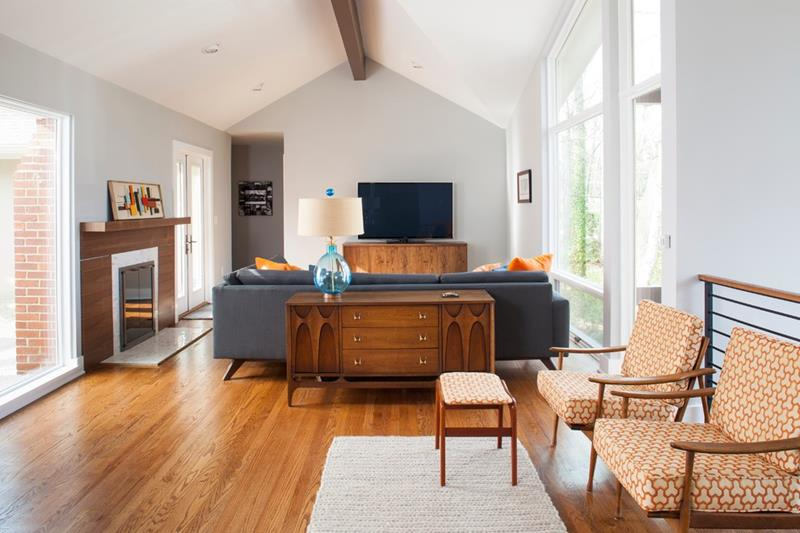 27 Beautiful Mid Century Living Room Designs-9