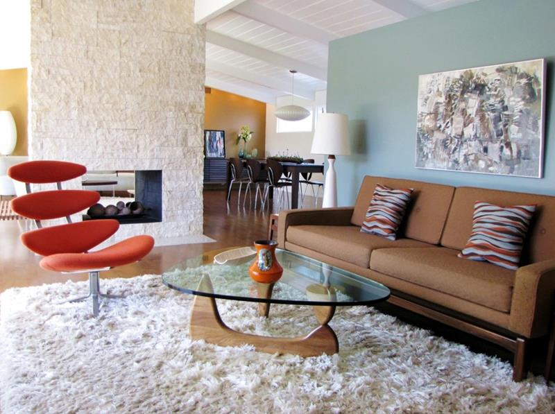 27 Beautiful Mid Century Living Room Designs-title