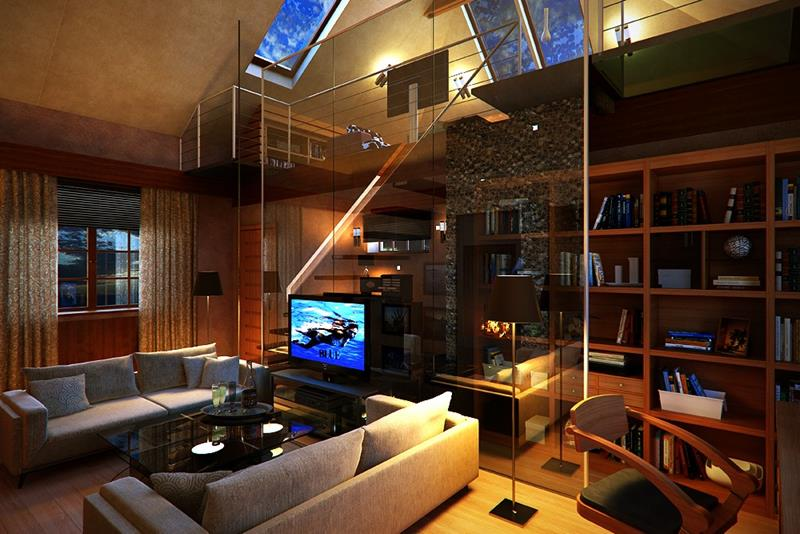 27 Comfortable and Cozy Living Room Designs-15