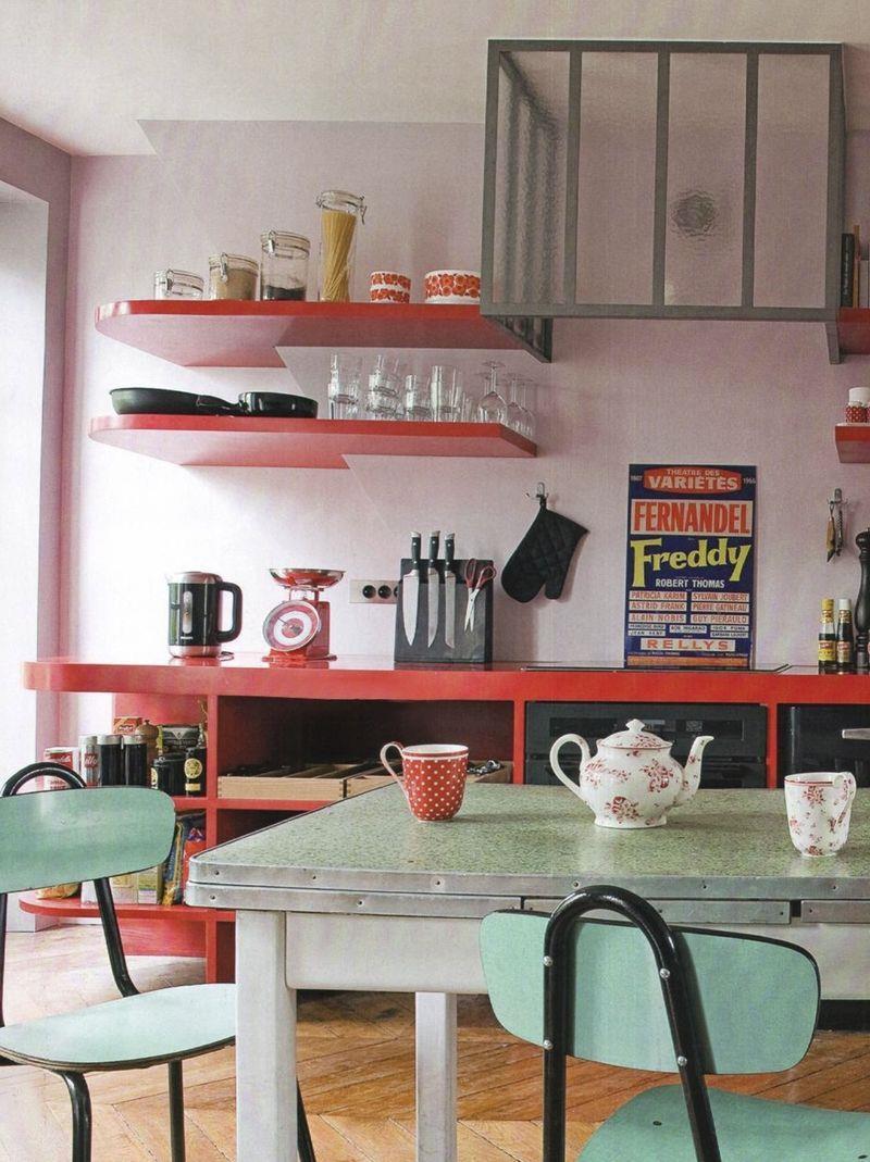 27 Retro Kitchen Designs That Are Back to the Future-13