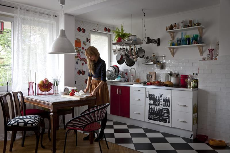27 Retro Kitchen Designs That Are Back to the Future-5