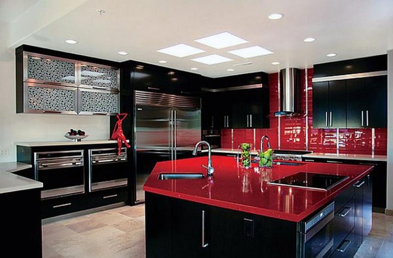 27 Totally Awesome Red Kitchen Designs-10
