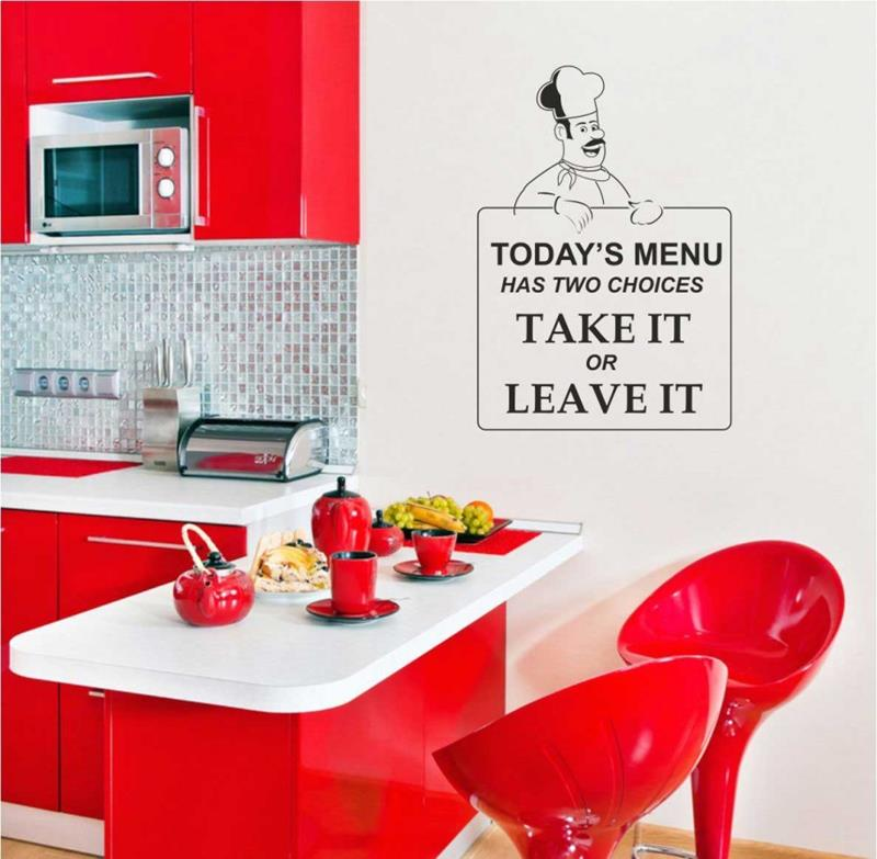 27 Totally Awesome Red Kitchen Designs-11