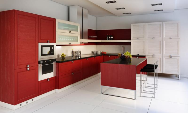 27 Totally Awesome Red Kitchen Designs-16