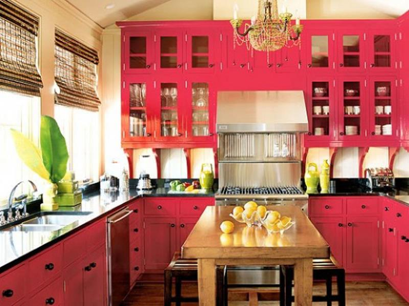 27 Totally Awesome Red Kitchen Designs-18