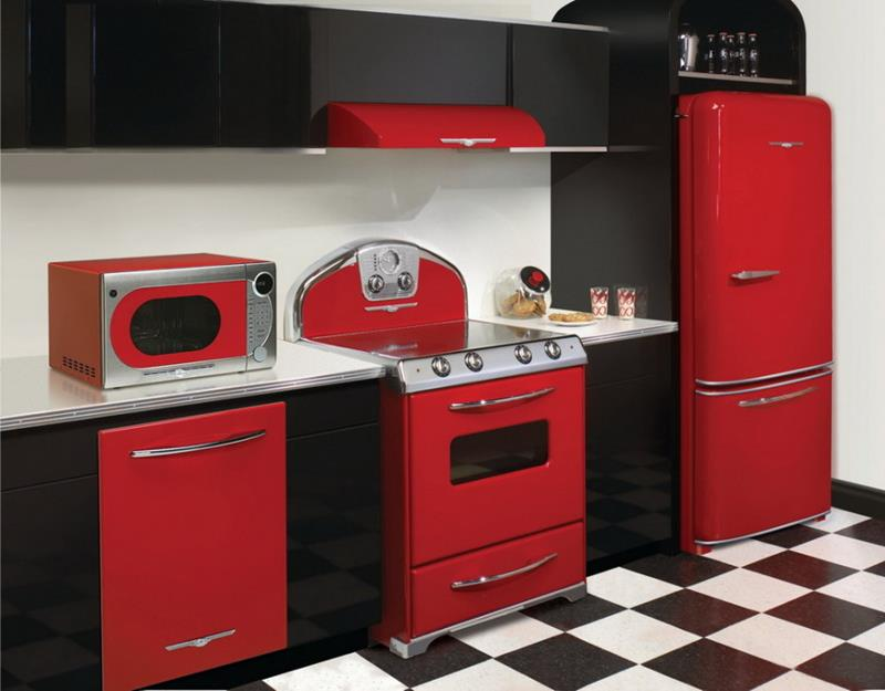 27 Totally Awesome Red Kitchen Designs-22