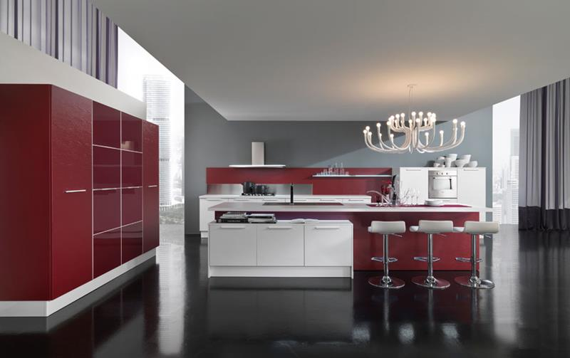 27 Totally Awesome Red Kitchen Designs-25