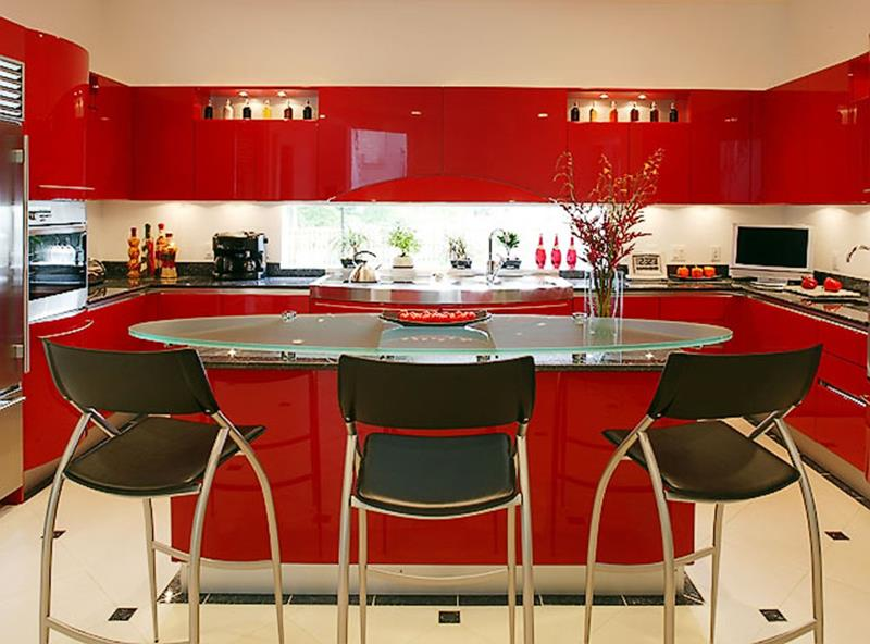 27 Totally Awesome Red Kitchen Designs-3