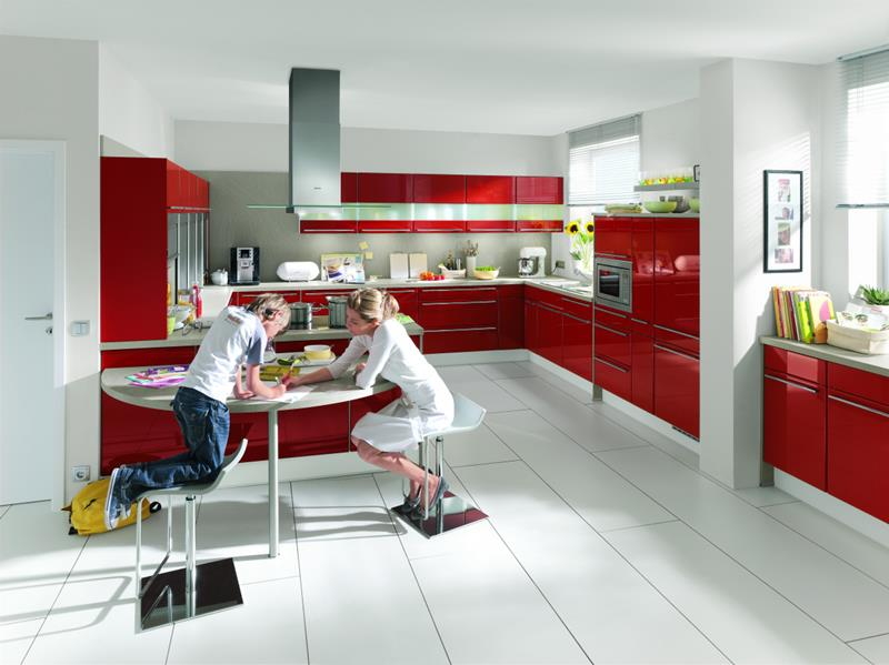 27 Totally Awesome Red Kitchen Designs-5