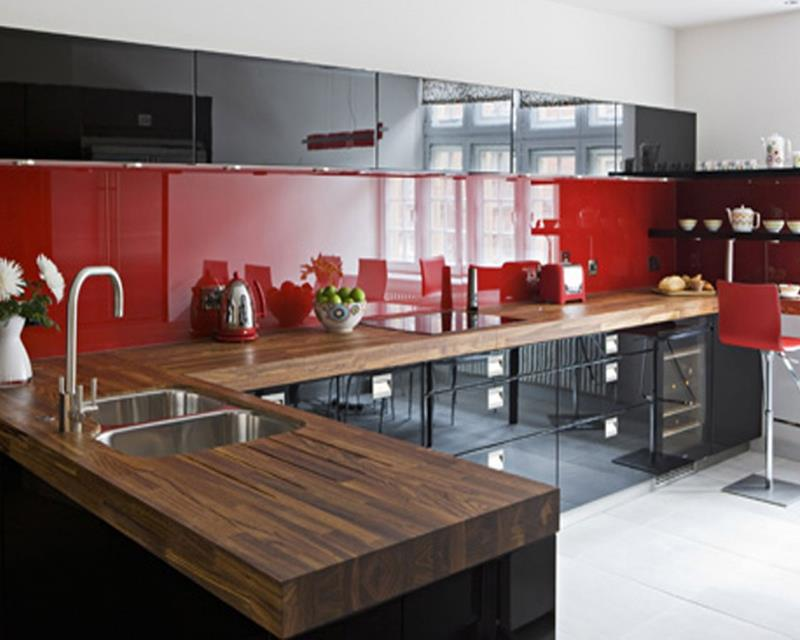 27 Totally Awesome Red Kitchen Designs-6