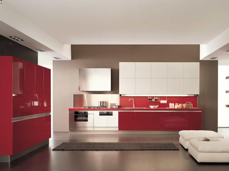 27 Totally Awesome Red Kitchen Designs-8
