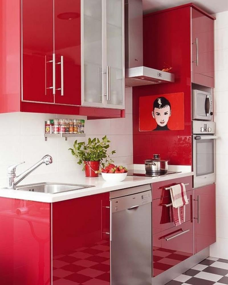 27 Totally Awesome Red Kitchen Designs-9