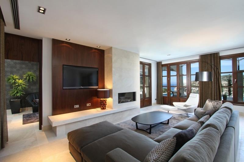 29 Inspirational Family Room Designs-14