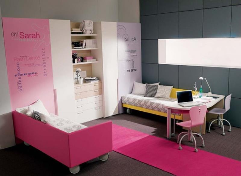 31 Pretty in Pink Bedroom Designs-15