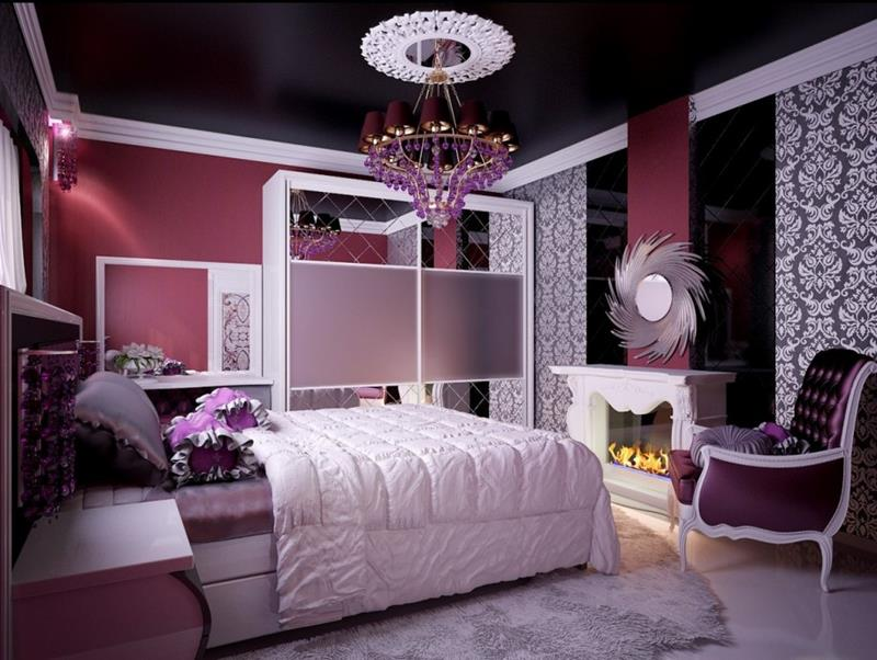 31 Pretty in Pink Bedroom Designs-22