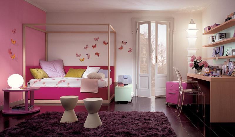 31 Pretty in Pink Bedroom Designs-23