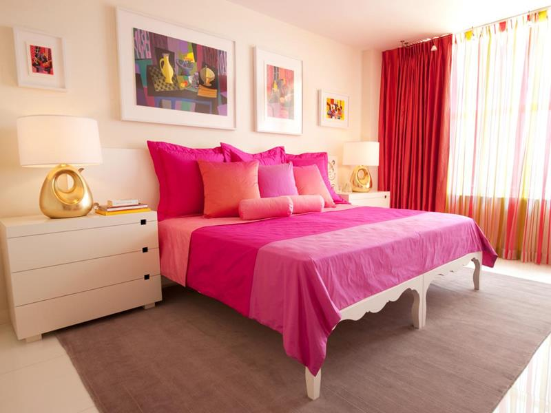 31 Pretty in Pink Bedroom Designs-26