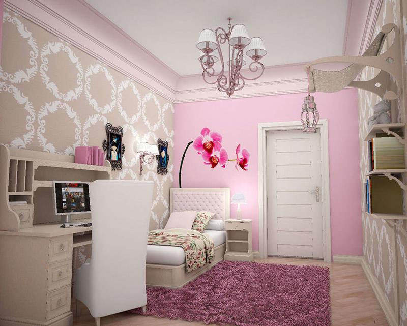 31 Pretty in Pink Bedroom Designs-8