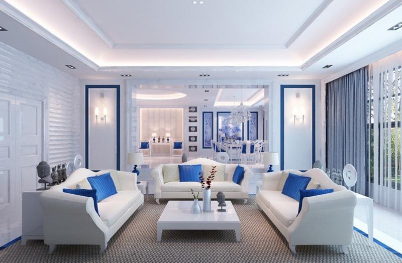 127 Luxury Living Room Designs-104