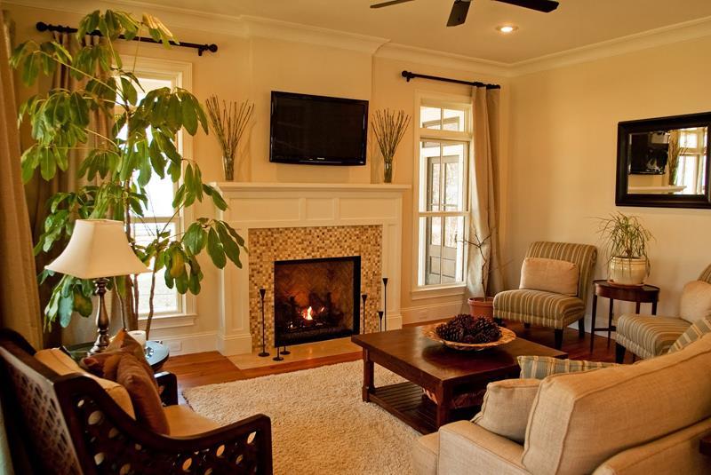 127 Luxury Living Room Designs-107