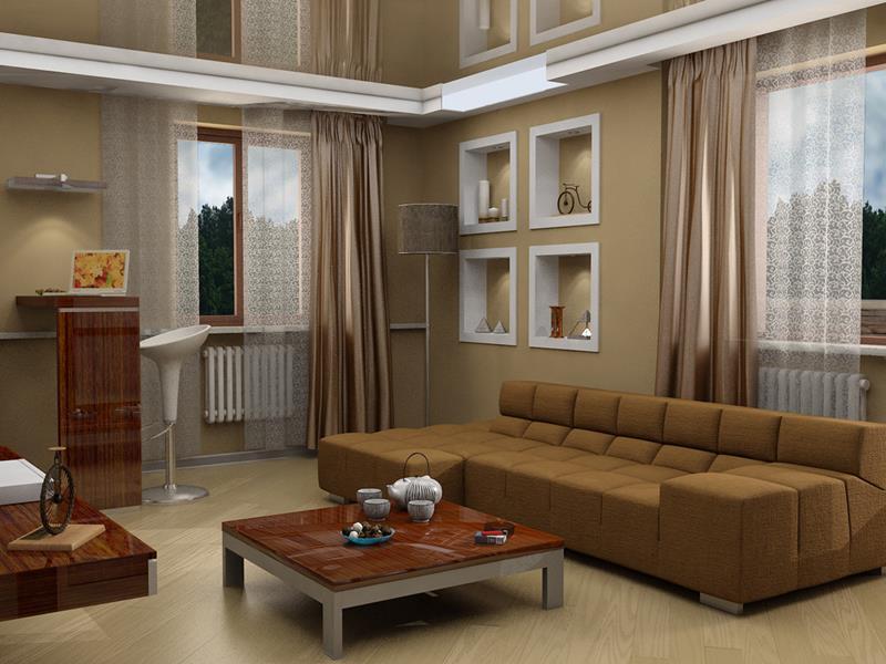 127 Luxury Living Room Designs-113