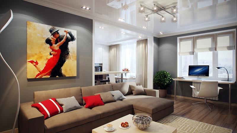 127 Luxury Living Room Designs-115