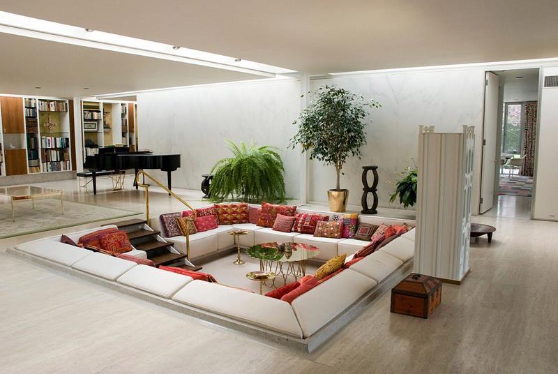 127 Luxury Living Room Designs-117