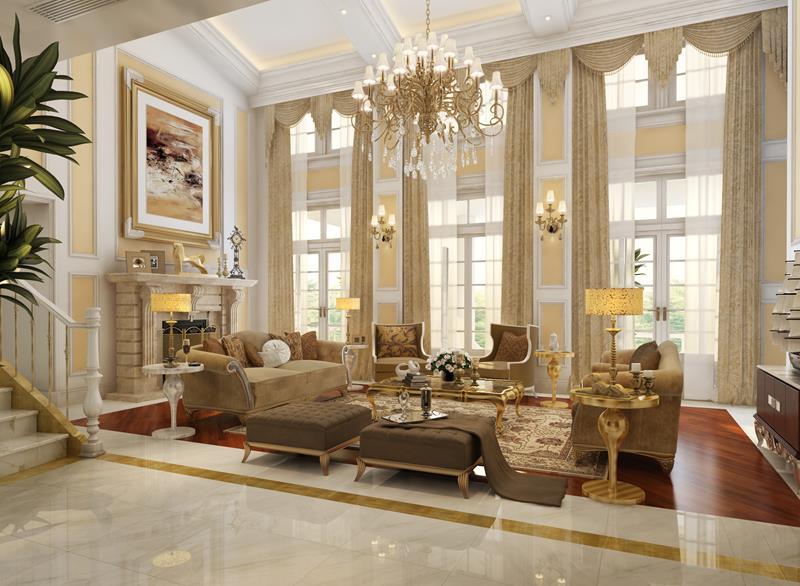 127 Luxury Living Room Designs-17
