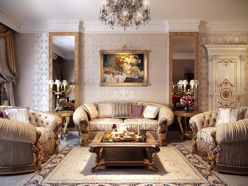 127 Luxury Living Room Designs-21