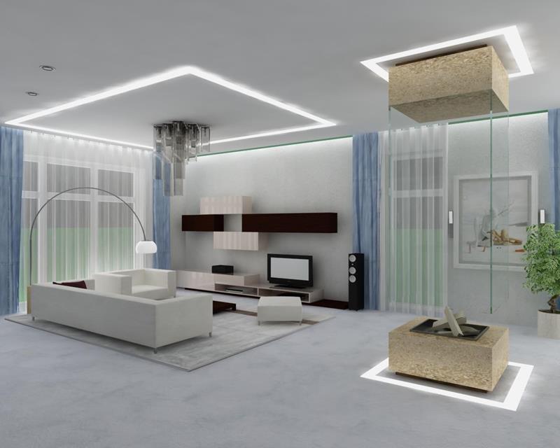 127 Luxury Living Room Designs-23