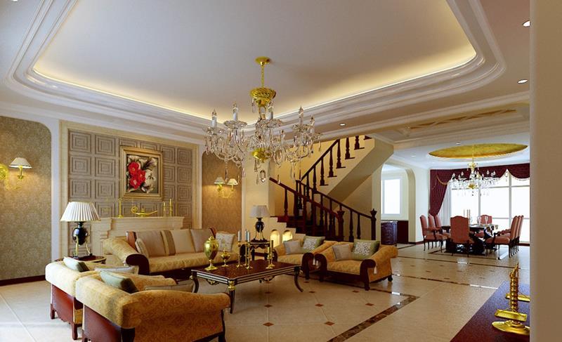 127 Luxury Living Room Designs-28