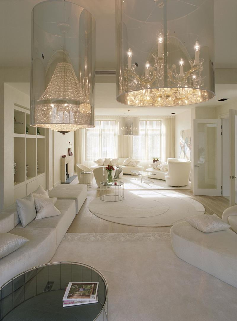 127 Luxury Living Room Designs-32